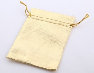 Мешочек из парчи, золото, 9х12 см