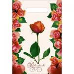 """Пакет """"Розовая дымка""""-полиэтиленовый с вырубной ручкой, 20 х 30 см, 30 мкм"""