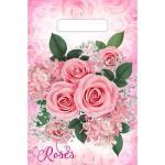 """Пакет """"Воздушные розы"""", полиэтиленовый с вырубной ручкой, 20 х 30 см"""