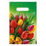 """Пакет """"Весна"""", полиэтиленовый с вырубной ручкой, 20 х 30 см"""