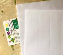Самоклеющаяся бумага, белая